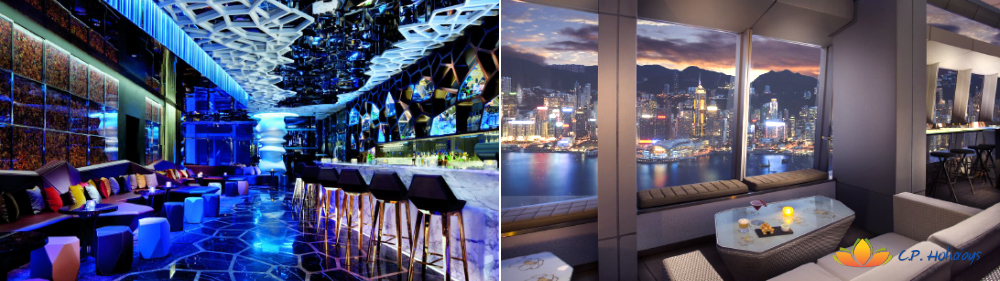 Savour a drink amidst the clouds at OZONE,