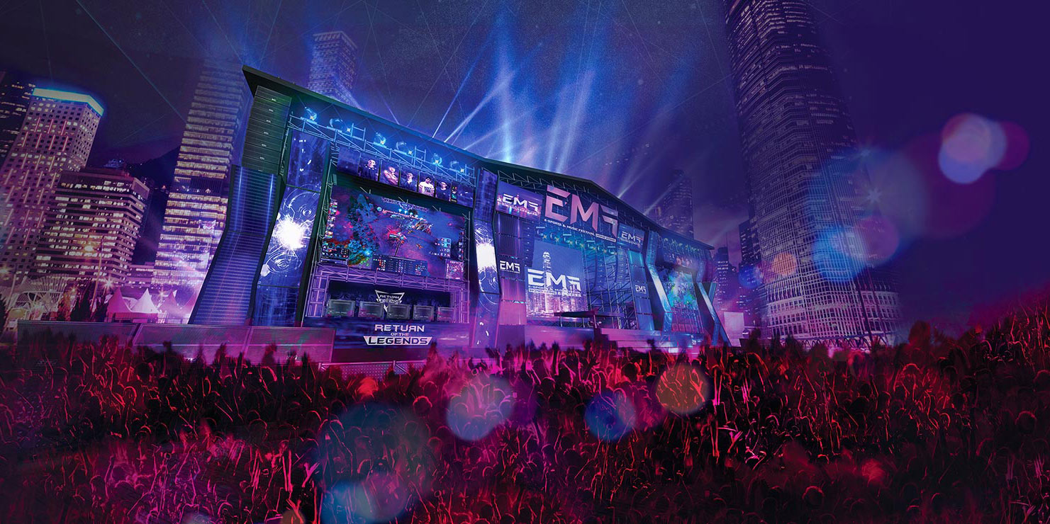 ICBC (Asia) e-sports and Music Festival Hong Kong Festival Zone